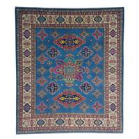 Handgeknüpft wolle kazak teppich 290x245cm   Orientalisch  teppich
