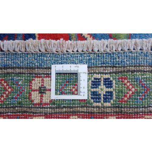 Handgeknoopt kazak tapijt 290x245 cm  oosters kleed vloerkleed