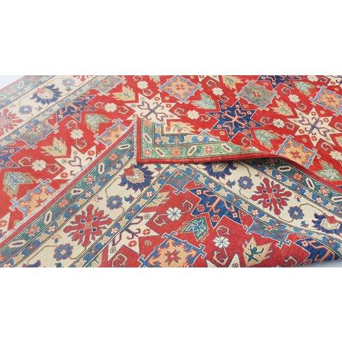 Handgeknüpft wolle kazak teppich 296x252 cm   Orientalisch  teppich