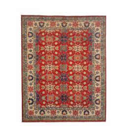 ZARGAR RUGS Hand knotted  9'7 x 8' wool kazak area rug 296x252 cm  Oriental carpet