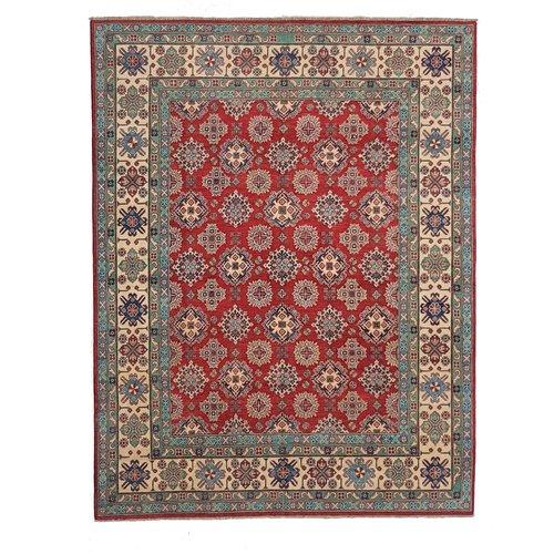 Handgeknüpft wolle kazak teppich 295x251 cm Orientalisch  teppich