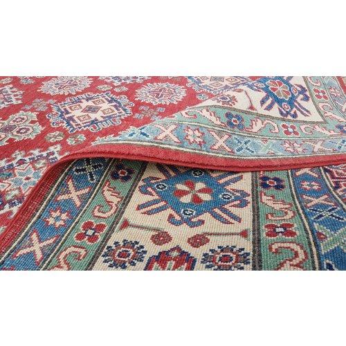 Handgeknoopt kazak tapijt 295x251 cm  oosters kleed vloerkleed