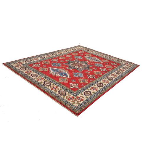 Handgeknoopt kazak tapijt 305x243 cm  oosters kleed vloerkleed