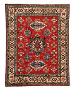 Hand knotted 10'x 7'9  wool kazak area rug 305x243 cm  Oriental carpet