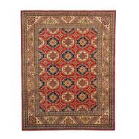 Hand knotted 10'x 7'9  wool kazak area rug 313x241 cm  Oriental carpet