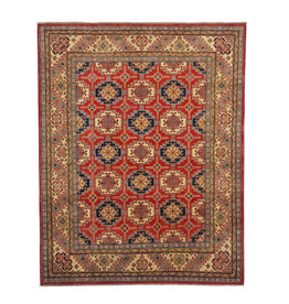 ZARGAR RUGS Hand knotted 10'x 7'9  wool kazak area rug 313x241 cm  Oriental carpet