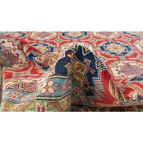 Handgeknüpft wolle kazak teppich 313x241 cm Orientalisch  teppich