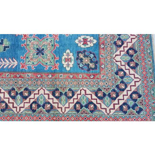 Handgeknoopt kazak tapijt 303x246 cm  oosters kleed vloerkleed