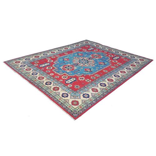 Handgeknoopt kazak tapijt 297x249 cm  oosters kleed vloerkleed