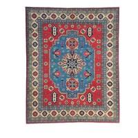Handgeknüpft wolle kazak teppich 297x249 cm Orientalisch  teppich