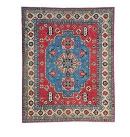 ZARGAR RUGS Hand knotted 9'7x 8'  wool kazak area rug 297x249 cm  Oriental carpet