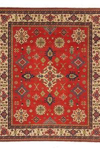 Handgeknüpft wolle kazak teppich 300x254 cm Orientalisch  teppich