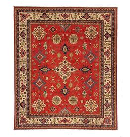 ZARGAR RUGS Hand knotted 9'8x 8' wool kazak area rug 300x254 cm  Oriental carpet