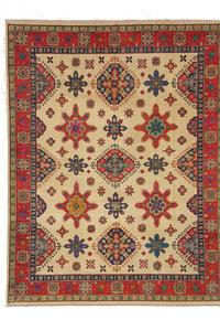 Handgeknüpft wolle kazak teppich 301x242 cm Orientalisch  teppich