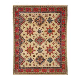 ZARGAR RUGS Hand knotted 10' x 7'9  wool kazak area rug 301x242 cm  Oriental carpet