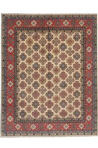 Hand knotted 9'6 x 8'  wool kazak area rug 294x244 cm  Oriental carpet