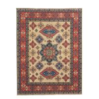 Handgeknoopt kazak tapijt 300x251 cm  oosters kleed vloerkleed