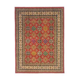 ZARGAR RUGS Hand knotted 10' x 8'  wool kazak area rug 310x247 cm  Oriental carpet