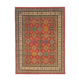 ZARGAR RUGS Handgeknoopt kazak tapijt 310x247 cm  oosters kleed vloerkleed
