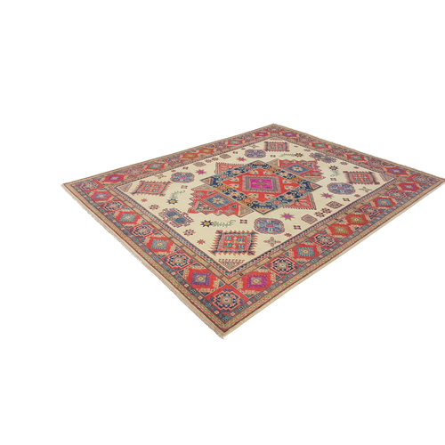 Handgeknoopt kazak tapijt  312x245 cm  oosters kleed vloerkleed