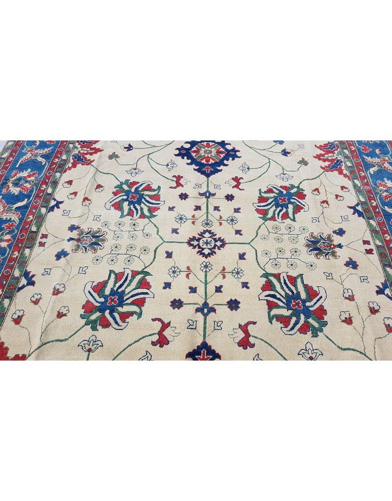 ZARGAR RUGS Handgeknüpft wolle kazak teppich  360x275 cm   Orientalisch teppichboden