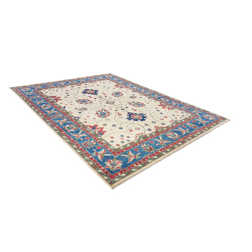 shal Hand knotted  11'8x 9' wool kazak area rug  360x275 cm  Oriental carpet