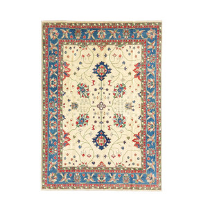 Handgeknoopt kazak tapijt 360x275 cm  oosters kleed vloerkleed