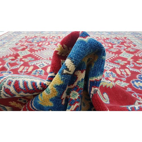 Handgeknüpft wolle kazak teppich  363x275 cm   Orientalisch teppichboden
