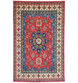 ZARGAR RUGS shal Hand knotted  12'x 8' wool kazak area rug  368x254 cm  Oriental carpet