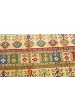 ZARGAR RUGS shal Hand knotted  11'x 8' wool kazak area rug  344x252 cm  Oriental carpet
