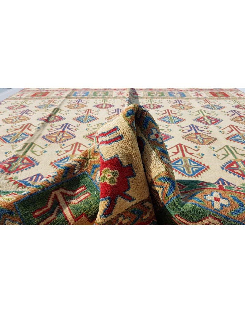 ZARGAR RUGS Handgeknüpft wolle kazak teppich  344x252 cm   Orientalisch teppichboden