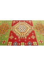 ZARGAR RUGS Handgeknüpft wolle kazak teppich  370x277 cm   Orientalisch teppichboden