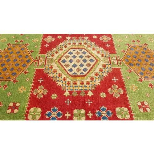 Handgeknüpft wolle kazak teppich  370x277 cm   Orientalisch teppichboden