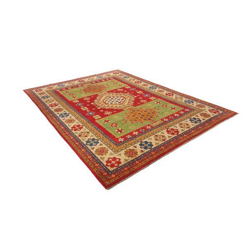 Handgeknoopt kazak tapijt 370x277 cm  oosters kleed vloerkleed