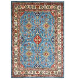ZARGAR RUGS Hand knotted  11'9x 9' wool kazak area rug  363x280  cm  Oriental carpet