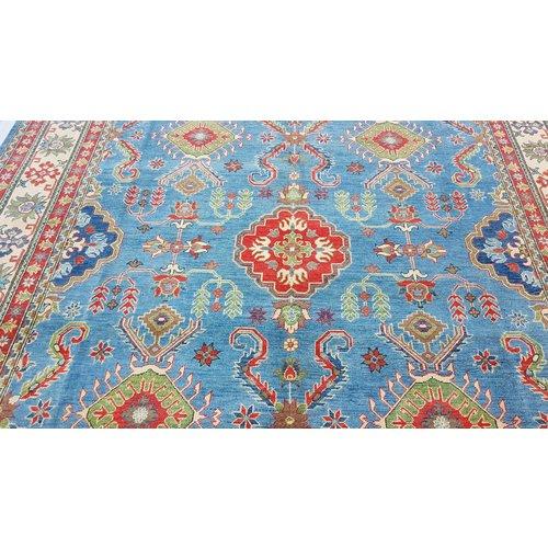 Handgeknüpft wolle kazak teppich  363x280  cm   Orientalisch teppichboden