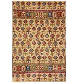 ZARGAR RUGS Handgeknoopt kazak tapijt 357x258 cm  oosters kleed vloerkleed