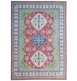 ZARGAR RUGS Hand knotted  11'8x 8'9 wool kazak area rug  360x274 cm  Oriental carpet