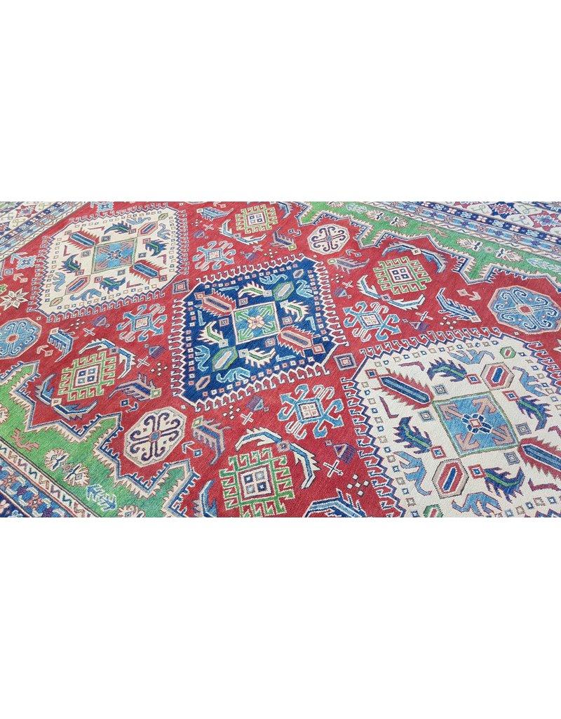 ZARGAR RUGS Handgeknüpft wolle kazak teppich  360x274 cm   Orientalisch teppichboden