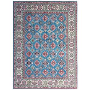 Handgeknüpft wolle kazak teppich  359x275 cm   Orientalisch teppichboden
