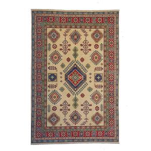 Handgeknoopt kazak tapijt 296x202 cm  oosters kleed vloerkleed