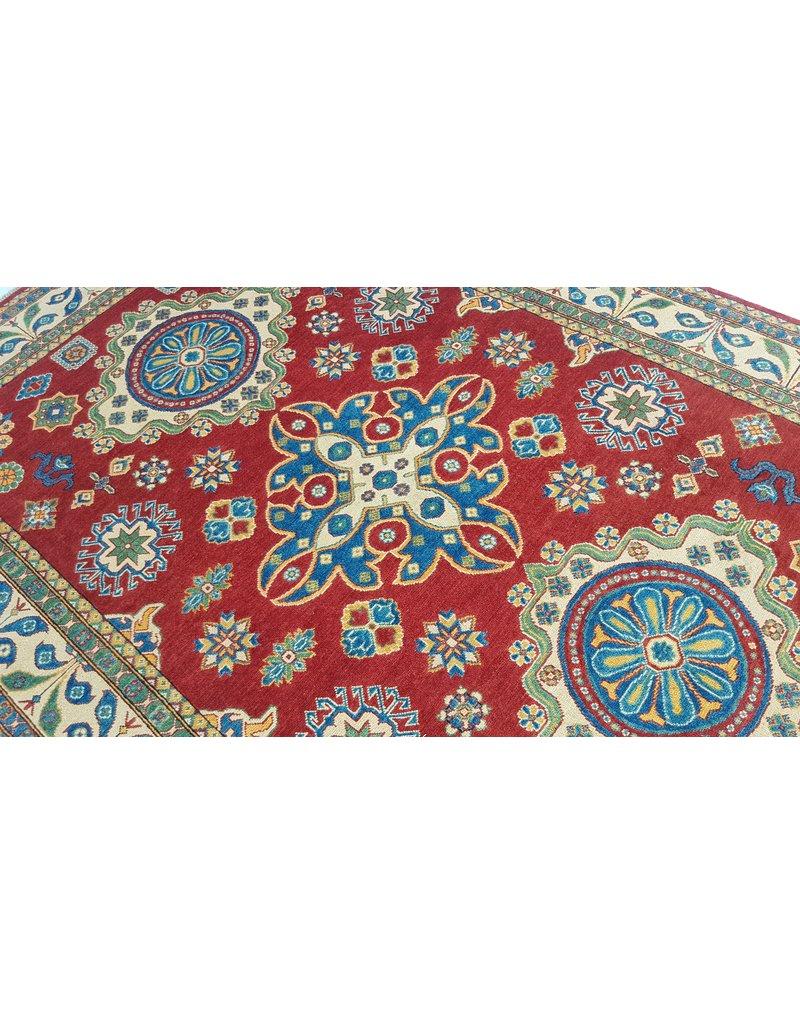 ZARGAR RUGS Handgeknüpft wolle kazak teppich  296x202  cm   Orientalisch teppichboden