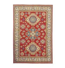 ZARGAR RUGS Hand knotted  9'8x6'6 wool kazak area rug  296x202 cm  Oriental carpet
