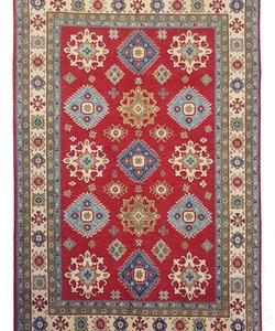 Handgeknoopt kazak tapijt 296x197 cm  oosters kleed vloerkleed