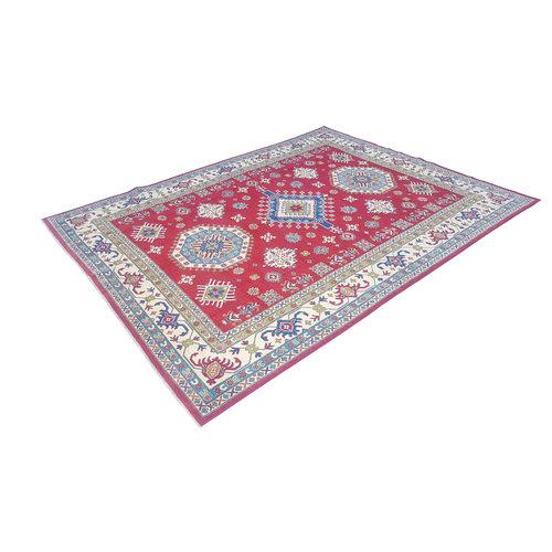Handgeknoopt kazak tapijt 356x271 cm  oosters kleed vloerkleed