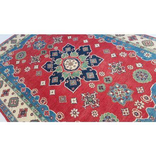 Handgeknüpft wolle kazak teppich  306x207 cm   Orientalisch teppichboden