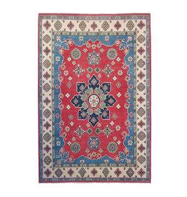 ZARGAR RUGS Hand knotted  10'x6'7 wool kazak area rug  306x207 cm  Oriental carpet