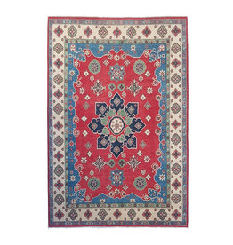 ZARGAR RUGS Handgeknoopt kazak tapijt 306x207 cm  oosters kleed vloerkleed