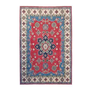 Handgeknoopt kazak tapijt 306x207 cm  oosters kleed vloerkleed
