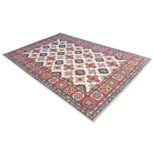 Handgeknoopt kazak tapijt 294x202 cm  oosters kleed vloerkleed